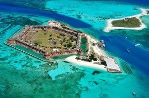 Dry tortuga island