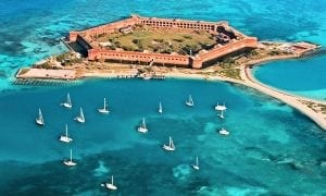 Garden Key within the Dry Tortugas National Park - Rentals Florida Keys